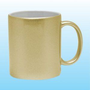Golden Silver Mug