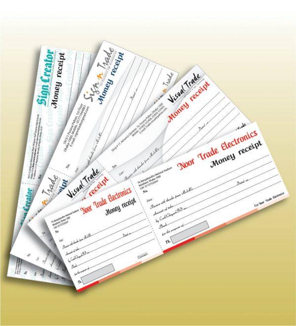 Cash Receipt Book Printing
