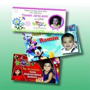 Birthday Card Digital Printing
